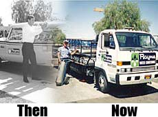 Coach Works Auto Body Then and Now